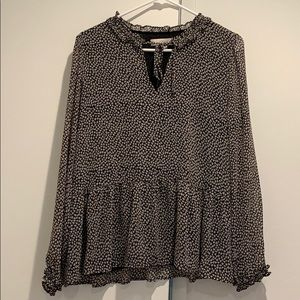 Loft blouse women